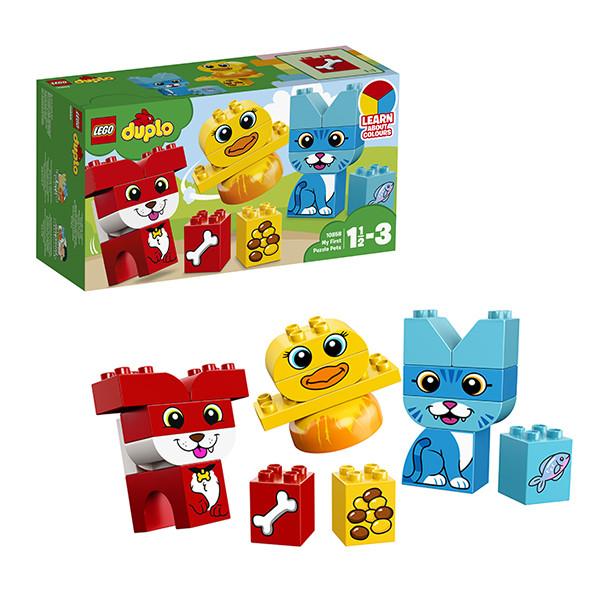 Игрушка Лего Дупло (Lego Duplo) Мои первые домашние животные