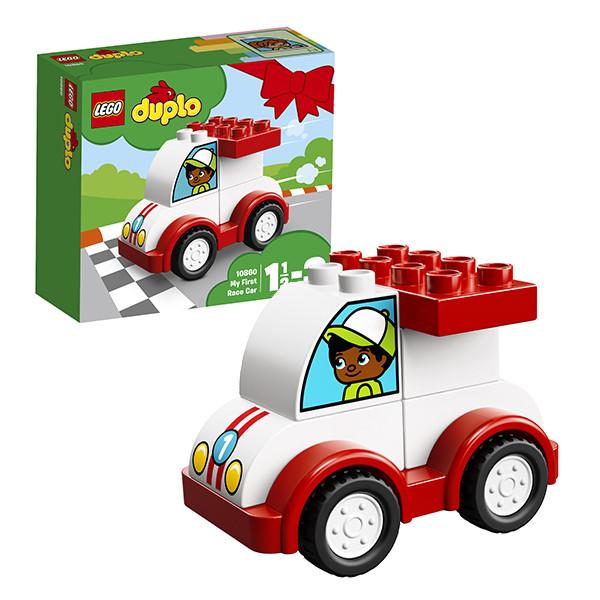 Игрушка Лего Дупло (Lego Duplo) Мой первый гоночный автомобиль