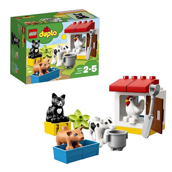 Игрушка Лего Дупло (Lego Duplo) Ферма: домашние животные