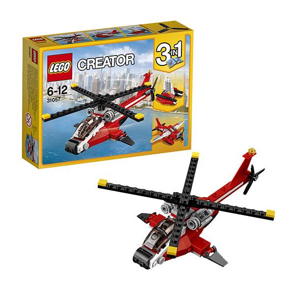 Игрушка Лего Криэйтор (Lego Creator) Красный вертолёт