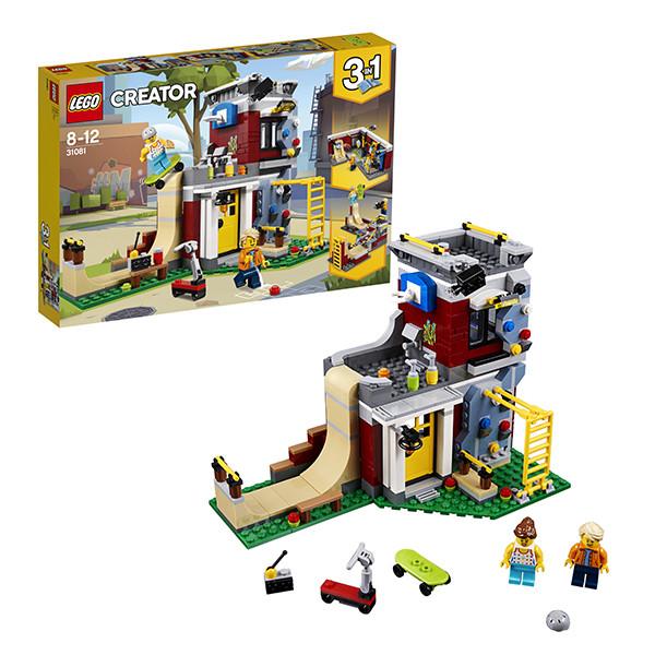 Игрушка Лего Криэйтор (Lego Creator) Скейт-площадка (модульная сборка)