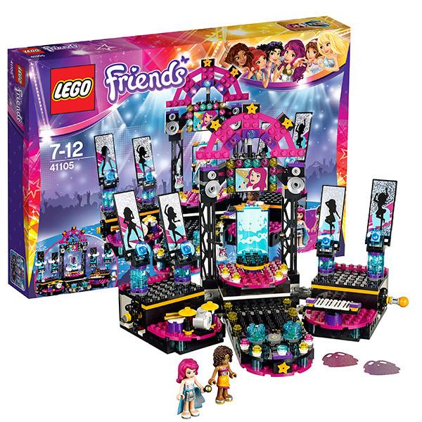 Игрушка Лего Френдс (Lego Friends) Подружки Поп звезда: сцена