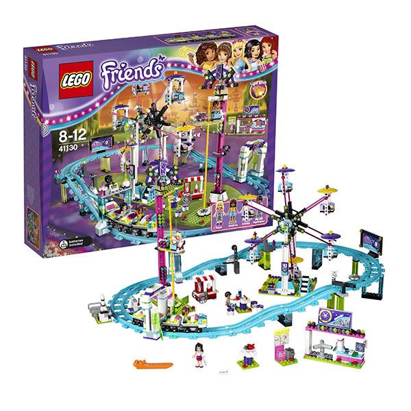 Игрушка Лего Френдс (Lego Friends) Подружки Парк развлечений: американские горки
