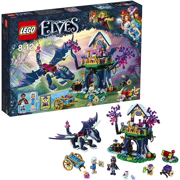 Игрушка Лего Эльфы (Lego Elves) Тайная лечебница Розалин