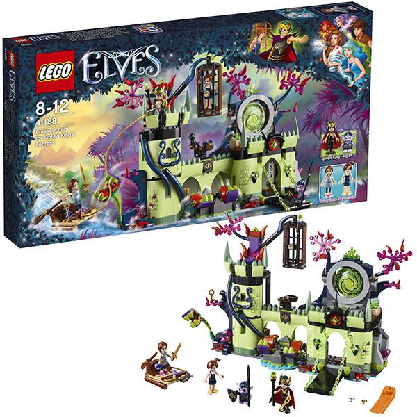 Игрушка Лего Эльфы (Lego Elves) Побег из крепости Короля гоблинов