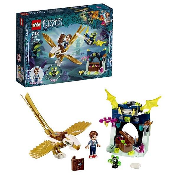 Игрушка Лего Эльфы (Lego Elves) Побег Эмили на орле