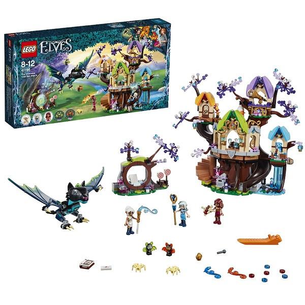 Игрушка Лего Эльфы (Lego Elves) Нападение летучих мышей на Дерево эльфийских звёзд