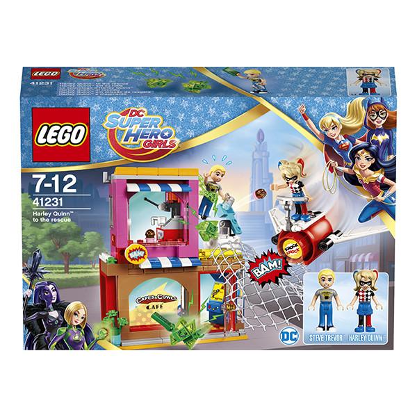 Игрушка Лего Супергёрлз (Lego Super Hero Girls) Харли Квинн™ спешит на помощь