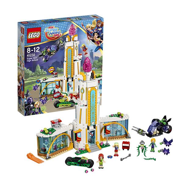 Игрушка Лего Супергёрлз (Lego Super Hero Girls) Школа супергероев