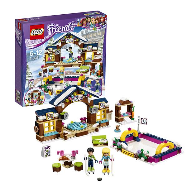 Игрушка Лего Френдс (Lego Friends) Подружки Горнолыжный курорт: каток