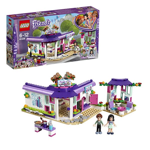 Игрушка Лего Френдс (Lego Friends) Подружки Арт-кафе Эммы