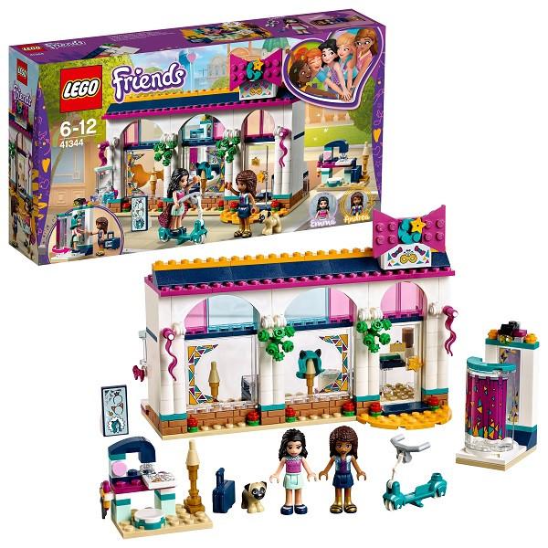 Игрушка Лего Френдс (Lego Friends) Подружки Магазин аксессуаров Андреа