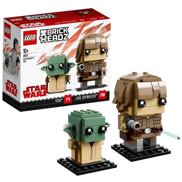 Игрушка Лего БрикХедз (Lego BrickHeadz) Люк Скайуокер и Йода