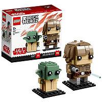 Игрушка Лего БрикХедз (Lego BrickHeadz) Люк Скайуокер и Йода, фото 1