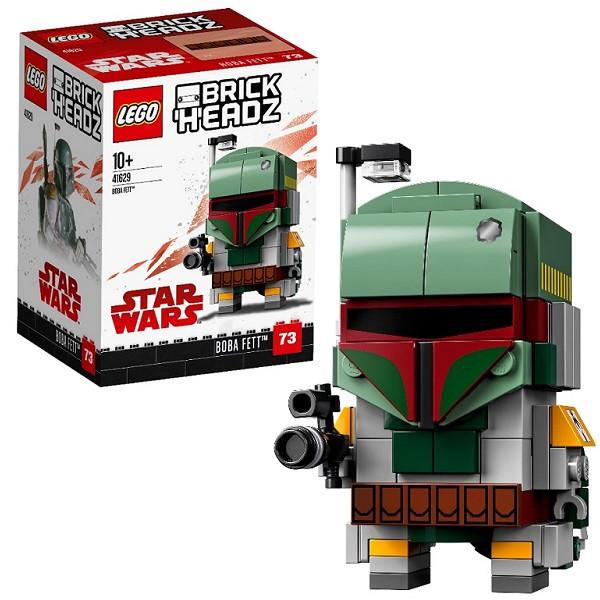 Игрушка Лего БрикХедз (Lego BrickHeadz) Боба Фетт