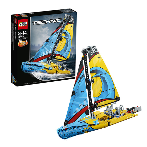 Игрушка Лего Техник (Lego Technic) Гоночная яхта