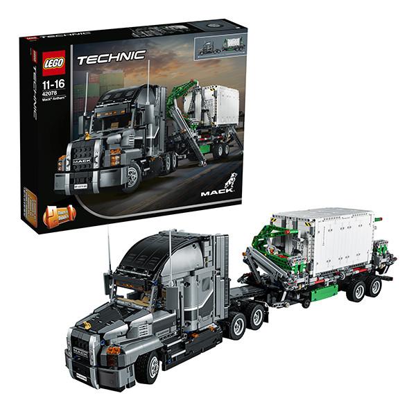 Игрушка Лего Техник (Lego Technic) Грузовик MACK™