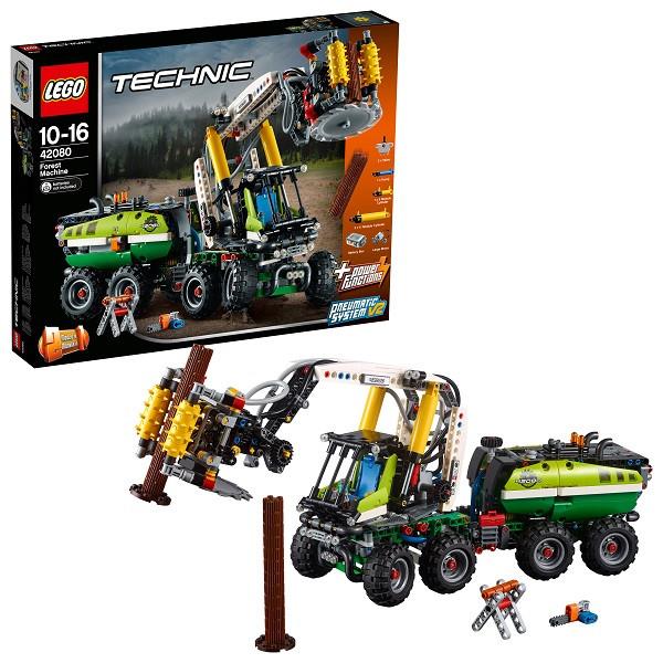 Игрушка Лего Техник (Lego Technic) Лесозаготовительная машина