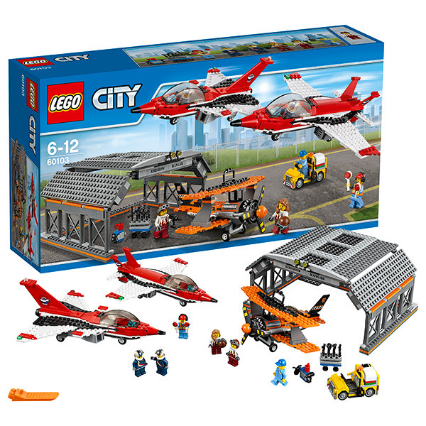 Игрушка Лего Город (Lego City) Авиашоу
