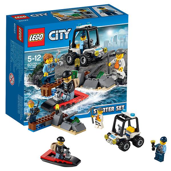 Игрушка Лего Город (Lego City) Набор для начинающих: Остров-тюрьма