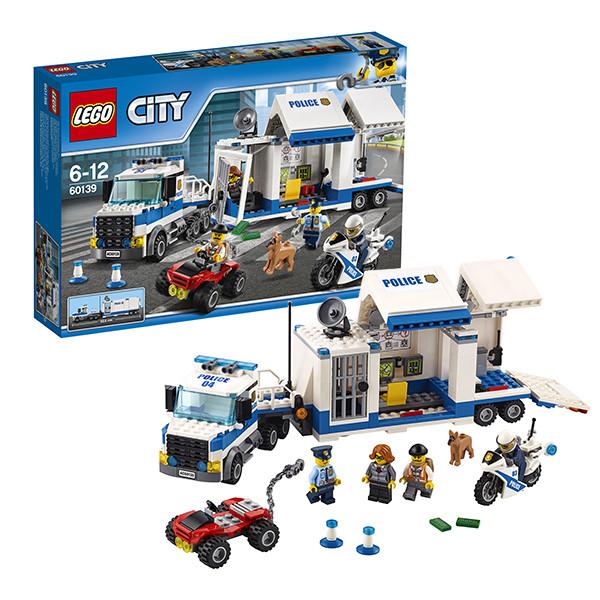 Игрушка Лего Город (Lego City) Мобильный командный центр