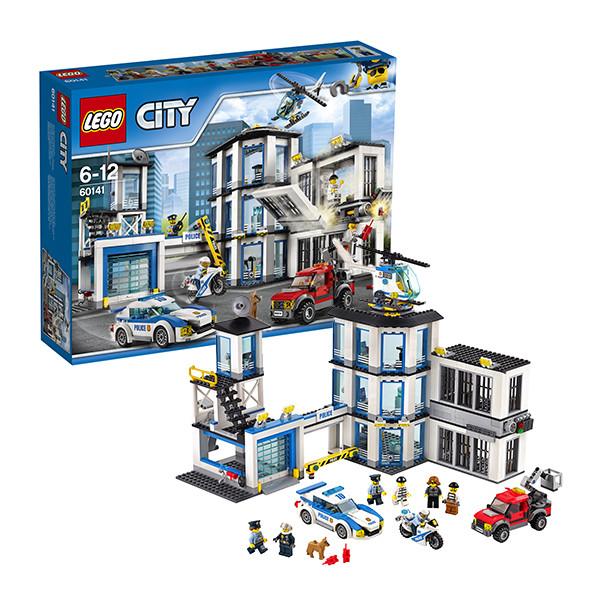 Игрушка Лего Город (Lego City) Полицейский участок