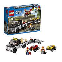 Игрушка Лего Город (Lego City) Гоночная команда, фото 1