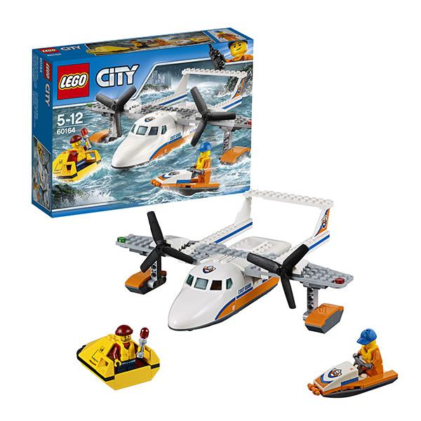 Игрушка Лего Город (Lego City) Спасательный самолет береговой охраны