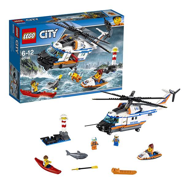 Игрушка Лего Город (Lego City) Сверхмощный спасательный вертолёт