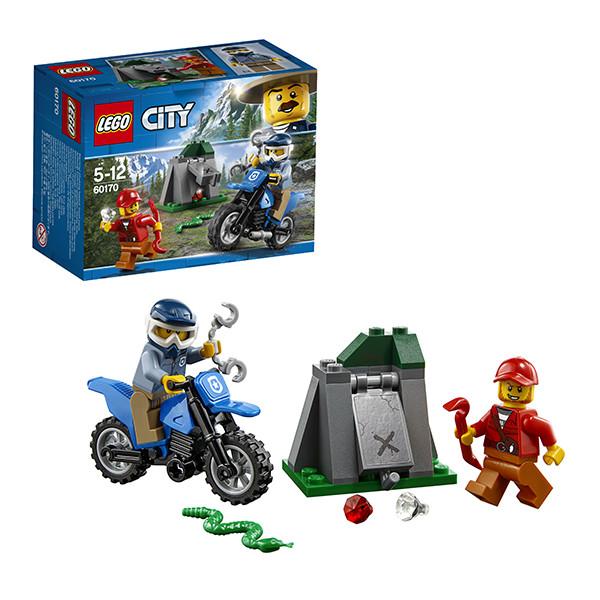 Игрушка Лего Город (Lego City) Погоня на внедорожниках