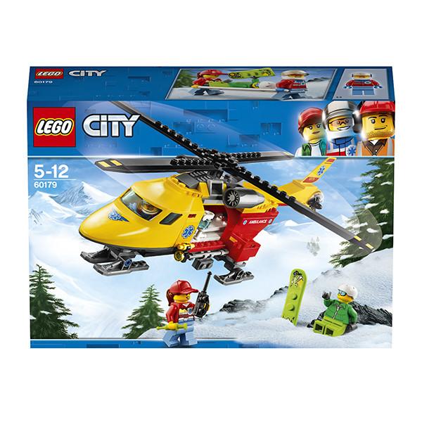 Игрушка Лего Город (Lego City) Вертолёт скорой помощи