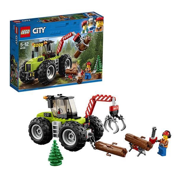 Игрушка Лего Город (Lego City) Лесной трактор