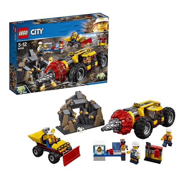 Игрушка Лего Город (Lego City) Тяжелый бур для горных работ