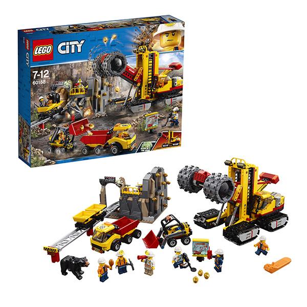 Игрушка Лего Город (Lego City) Шахта