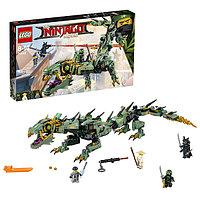 Игрушка Лего Ниндзяго (Lego Ninjago) Механический Дракон Зелёного Ниндзя