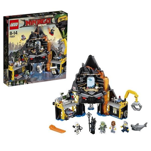 Игрушка Лего Ниндзяго (Lego Ninjago) Логово Гармадона в жерле вулкана