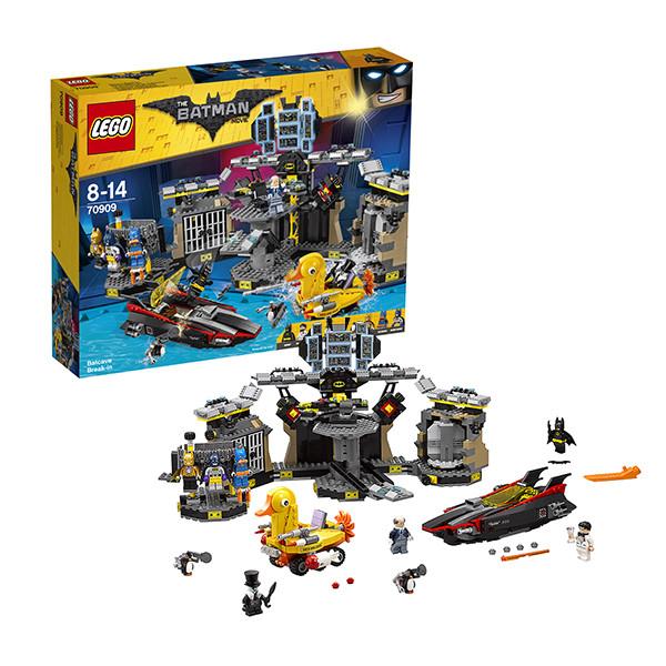 Игрушка Лего Фильм: Бэтмен (Lego Batman Movie) Нападение на Бэтпещеру