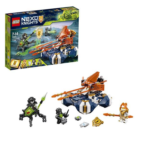 Игрушка Лего Нексо (Lego Nexo Knights) Летающая турнирная машина Ланса