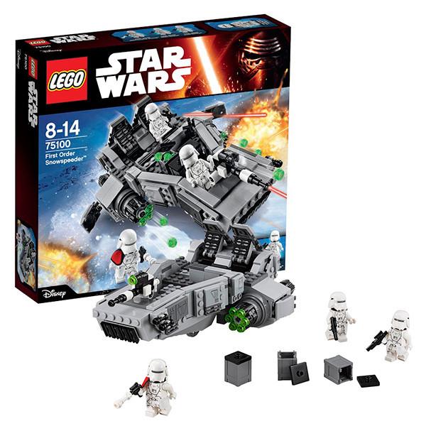 Игрушка Лего Звездные войны (Lego Star Wars) Снежный спидер Первого Ордена™