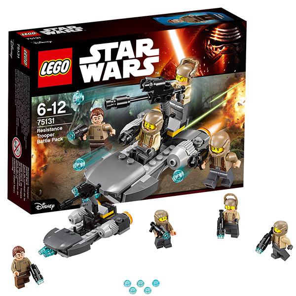 Игрушка Лего Звездные войны (Lego Star Wars) Боевой набор Сопротивления™
