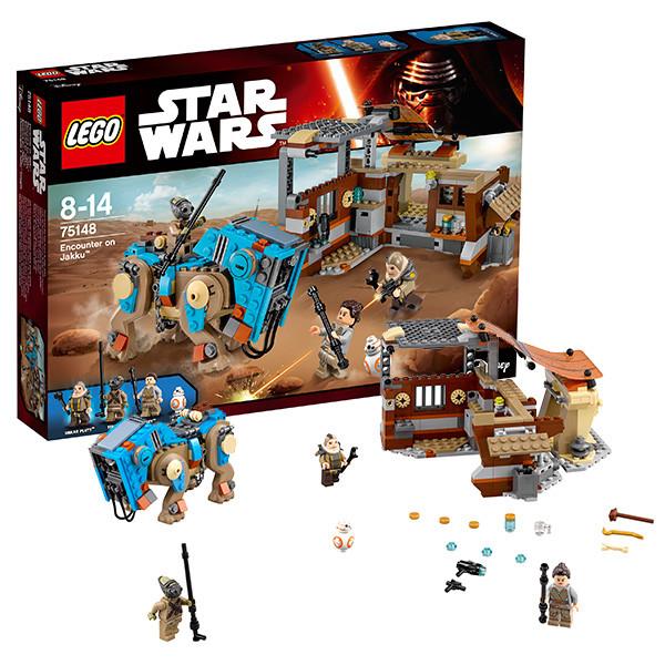 Игрушка Лего Звездные войны (Lego Star Wars) Столкновение на Джакку™