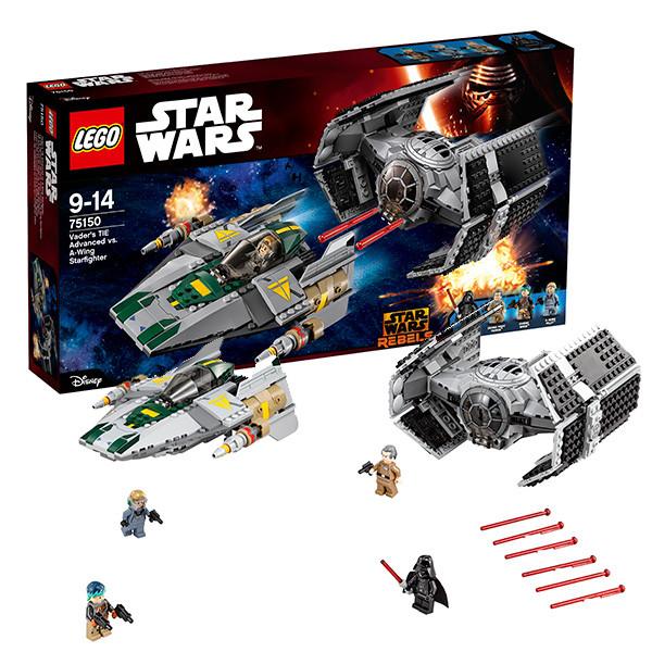 Игрушка Лего Звездные войны (Lego Star Wars) Усовершенствованный истребитель СИД Дарта Вейдера™ против Звёздного Истребителя A-Wing™
