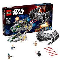 Игрушка Лего Звездные войны (Lego Star Wars) Усовершенствованный истребитель СИД Дарта Вейдера™ против Звёздного Истребителя A-Wing™, фото 1