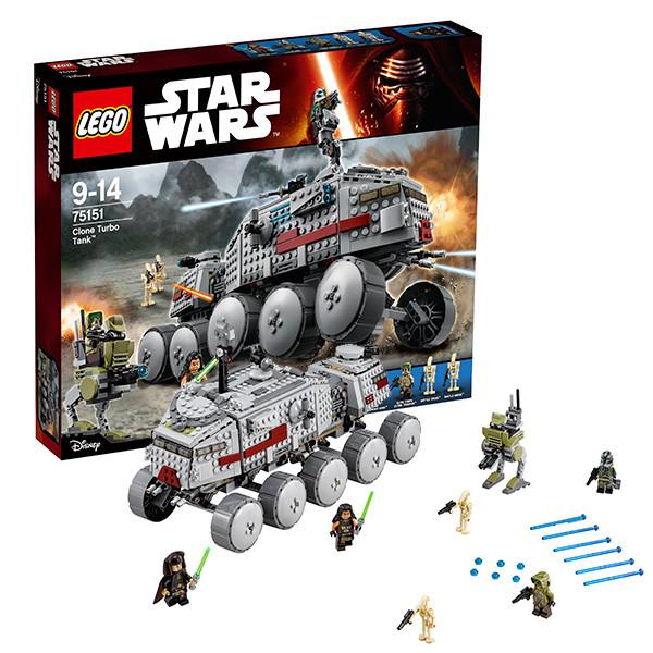 Игрушка Лего Звездные войны (Lego Star Wars) Турботанк Клонов™