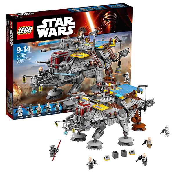 Игрушка Лего Звездные войны (Lego Star Wars) Шагающий штурмовой вездеход AT-TE капитана Рекса™