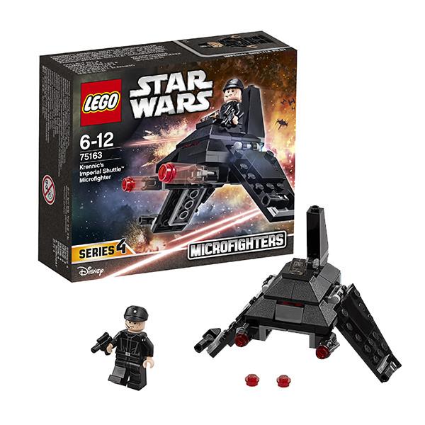 Игрушка Лего Звездные войны (Lego Star Wars) Микроистребитель Имперский шаттл Кренника™