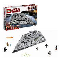 Игрушка Лего Звездные войны (Lego Star Wars) Звездный разрушитель Первого Ордена™, фото 1