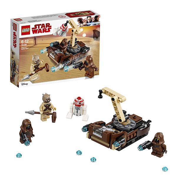 Игрушка Лего Звездные войны (Lego Star Wars) Боевой набор планеты Татуин™