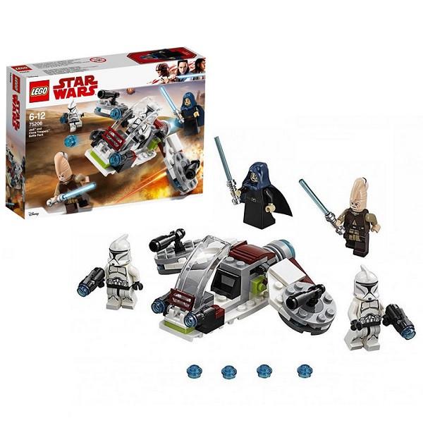 Игрушка Лего Звездные войны (Lego Star Wars) Боевой набор джедаев и клонов-пехотинцев™
