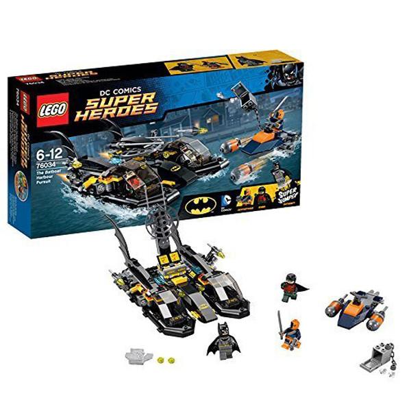 Игрушка Лего Супер Герои (Lego Super Heroes) Погоня в бухте на Бэткатере™
